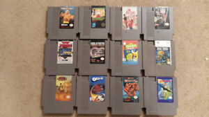 LOT OF NES GAMES $85 TAKES ALL