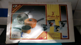 3 in 1 frying pan cooking pan and for boiling