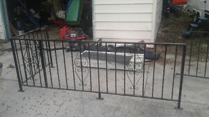 Wrought iron railing REDUCED