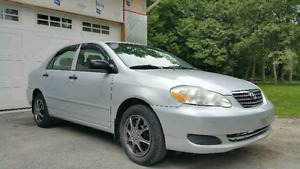 REDUCED 2007 Toyota Corolla Sedan