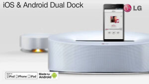 LG Electronics ND5630 30W iOS and Android Dual Speaker Dock with