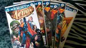 DC Rebirth Single Issues