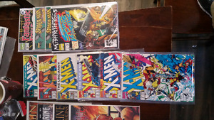 Assorted dc and marvel comics