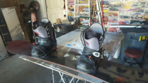 Burton Snowboard and Gear-Used