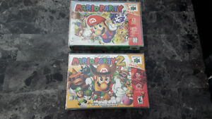 Mario Party 2 and 3 for N64