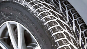 Tire change in  home service and Free wiper blades