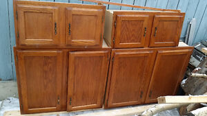 Kitchen base, top cabinets & countertop