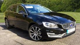 2017 Volvo V60 D3 (150) SE Lux Nav 5dr Auto w Automatic Diesel Estate