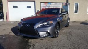 Lexus IS 300 F SPORT, AWD, CUIR, TOIT 2016