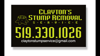 Clayton's Stump Removal Service