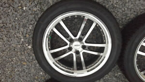 Bridgestone Blizzak Winter Tires + rims 5x120mm