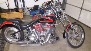 "2003  chopper. 89"" stroker with 5 speed."