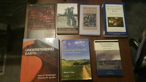 Various Textbooks (UofS)