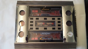 Car Audio - LANZAR VIBE 415 Power Amp