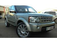 2011 LAND ROVER DISCOVERY 4 SDV6 HSE IMPANANA WITH CREAM LEATHER JUST 1 OWNE