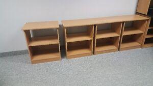 Low office shelves