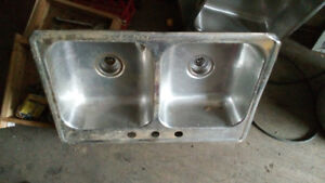 Stainless steel sink ( S)