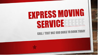Pickups /deliveries/ Call Express Moving. $59/hr Available 24/7
