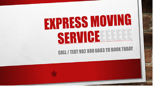 Pickups /deliveries/ $65/hr Call Express Moving. Available 24/7