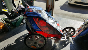Chariot 2 for up to 2 kids. Bike/Jogging Trailer. (Used)