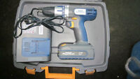 18V Lithium Ion 2 Speed Cordless Drill + Bit Pack
