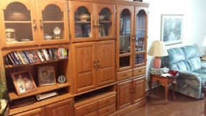 Entertainment/China cabinet for sale