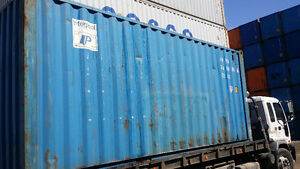 """USED STORAGE CONTAINER FOR SALE IN GRADE """"A"""" CONDITION Cornwall Ontario image 2"""