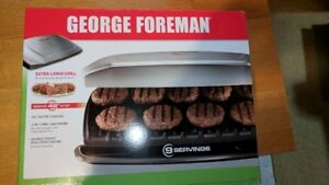 George Foreman Classic-Plate Grill for 9 Servings