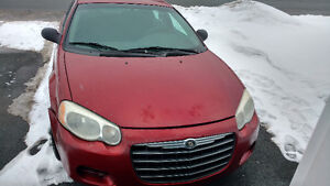 2004 Chrysler Sebring Sedan (Selling as is)