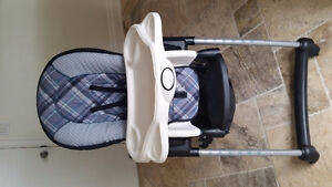 Eddie Bauer Adjustable high chair with tray