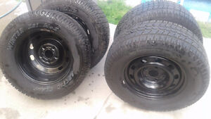 brand new rims and tires