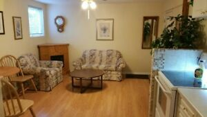Bright and Clean Furnished Basement Suite