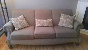 Matching couch and loveseat in excellent condition