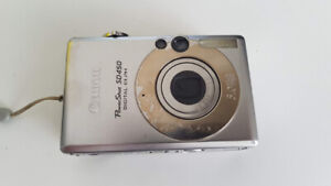 Canon Powershot SD450 5MP Digital Camera with 3X Optical Zoom
