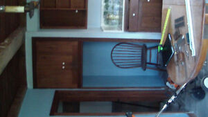 Tearing Down 1700's Farmhouse: Wood Kitchen Cabinets Available London Ontario image 7