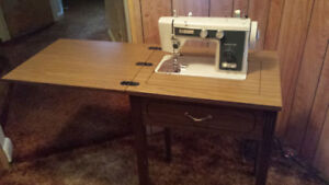Baycrest sewing machine and cabinet
