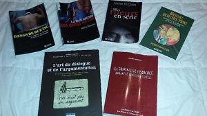 Livres de références sur le crime