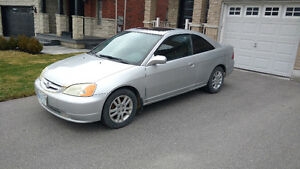 2002 Honda Civic Coupe (2 door) FOR SALE $1300 O.B.O.