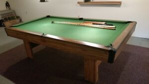 Bristol II Pool Table and Accessories