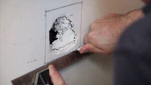 Fixing drywall / texture - water damage, mold,  replacement.