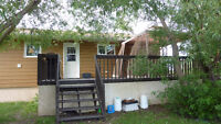 Country Home on 10.25 Acres, close to The Pas, MB