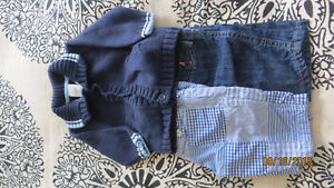 Gap boys size 0-3 month three piece mix and match - like new