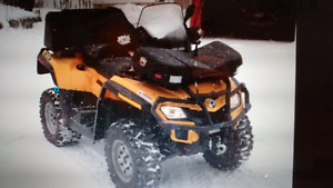 can-am Outlander max650 xlt 2012