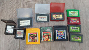 Gameboy, DS and 3DS Games