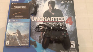 Ps4(500go)+Uncharted4+Final Fantasy15