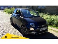 2016 Fiat 500 1.2 Lounge Dualogic Automatic Petrol Hatchback