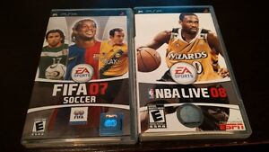 PS3 and PSP GameS