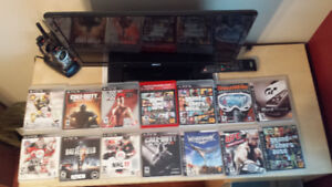 PS3 games (10 dollars a game or 180 for all 18)