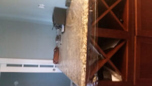 Granite Counter Top Table(BRAND NEW)