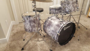 Premier Cabria Drums, 4-Piece with cymbals